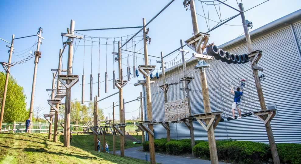 Altitude High Ropes Adventure  Kids Activities  Sheffield City Trust